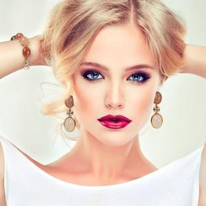 Beautiful model blond
